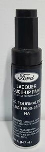 Nos Oem Ford Lacquer Touch Up Paint Dk Tourmaline Albz 19500 6572a Na