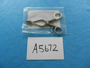 V Mueller Surgical 14cm Self Retaining Weitlaner Retractor Su3110 New