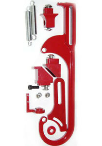 Pc Throttle Cable Bracket Kit Holley 4150 4160 Carb Carburetor Red