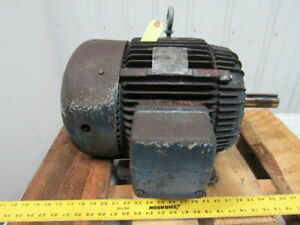 Westinghouse 7 1 2 Hp Electric Motor 230 460v 3ph 254t Frame 1170 Rpm