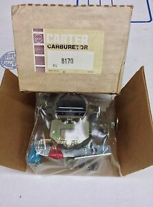 Nos Carter Bbd Carburetor 8170s 1977 Chrysler Dodge Plymouth 318 Engine