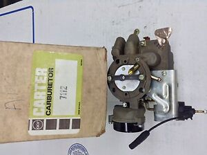 Nos Carter Yf Carburetor 7112s 1976 Amc Gremlin 232 258 Engine Manual Trans