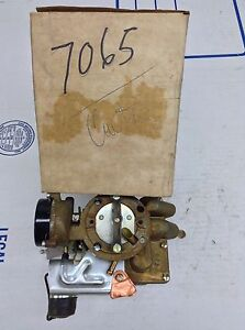 Nos Carter Yf Carburetor 7065s 1975 Amc Jeep 232 258 Engine Auto Trans
