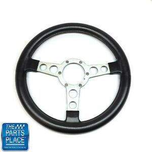 1970 81 Pontiac Firebird Trans Am Gto Steering Wheel Silver Spoke Bare