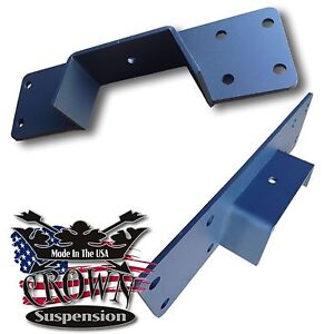 Crown Suspension Frame C notch Kit For 1997 2003 Ford F150 2wd