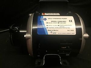 Jabsco Self Priming Pump Model 12290 0001