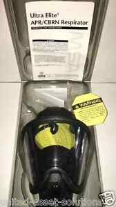 Gas Mask fire chemical riot military police tear Gas Paintball msa Ultra Elite