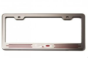 Acc Custom Ford License Plate Frame With 5 0 272028 red