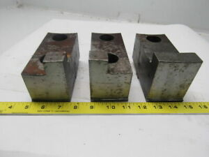 Daco 05 201458 Lathe Chuck Top Jaws Lot Of 3