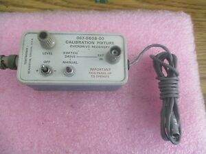 Tektronix Model 067 0608 00 Calibration Fixture Overdrive Recovery
