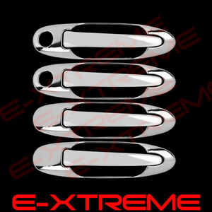 For 2005 2006 Toyota Tundra 4doors Handle W pskh Abs Chrome Cover