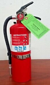5lb Fire Extinguisher Abc Dry Chemical Rechargeable First Alert 3 a 40 b c