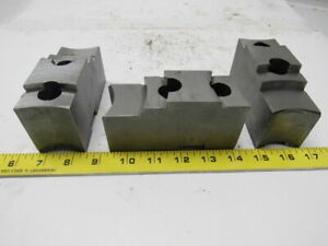 Daco 12kseh Lathe Chuck Top Jaws 4 3 4 X 2 1 2 X 1 3 4 Lot Of 3