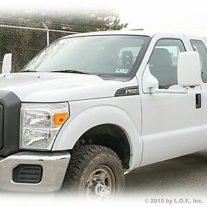 03 07 F250 Towing Pick Up Both Power White Turn Signal Heat Extended 22 Mirrors