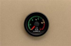 Eva 2 1 16 Pyro Egt Pyrometer 1500 Colored Dial R3607tr Gauge Only Isspro