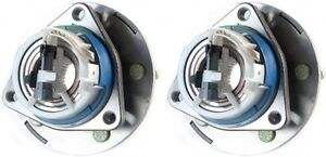 Hub Bearing Assembly For 2000 Chevrolet Blazer Fit 2 Wheel Drive Only Front Pair