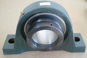 2 15 16 Bore Pillow Block Bearing With Eccentric Locking Collar New