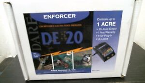 Enforcer 03348 Low Impedance Electric Fence Energizer Free Shipping