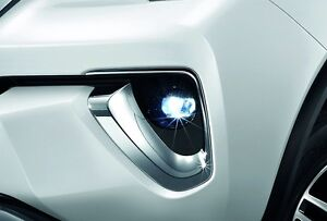 Genuine Toyota Car Accessories All New Fortuner 2015 2018 Led Fog Lamp And Light