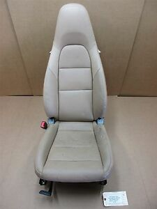 13 Carrera 911 Rwd Porsche 991 Cabrio L Front 4 Way Beige Leather Seat 33 116
