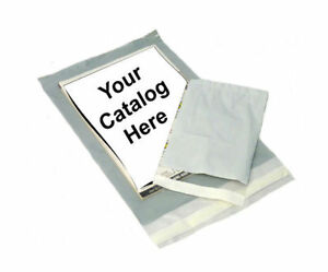 4000 6 x9 Clear View Poly Mailer 3 Mil Shipping Mailing Plastic Envelopes Bags