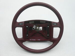 New Oem Crown Victoria Grand Marquis Steering Wheel Plain No Cruise F2az 3600 a