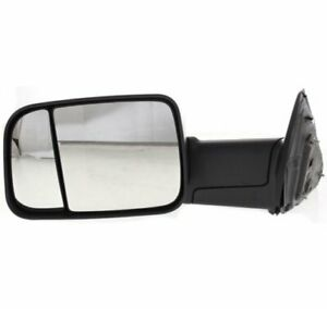 New Mirror For Ram Truck Left Hand Side Driver Lh Dodge 1500 2500 3500 Ch1320314