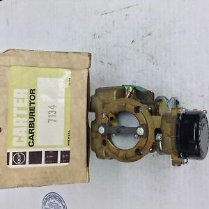 Nos Carter Yf Carburetor 7134s 1973 1974 Ford Cars 200 1973 Ford Bronco 200