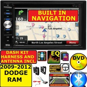2009 2012 Dodge Ram Truck Car Radio Stereo Gps Navigation System Bluetooth Bt