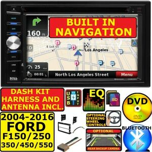 2004 2016 Ford F250 350 450 550 Bluetooth Dvd Car Stereo Gps Navigation System