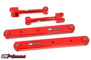 Umi 64 67 Chevelle A Body Rear Upper Tubular Lower Boxed Control Arm Kit