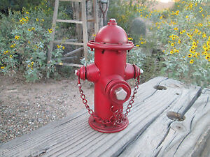 Fire Hydrant Metal Bank Firefighter Garage Fire Department Shop Man Cave Iaff