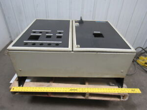 Rittal 39 x30 x12 2 Door Electrical Cabinet Panel Enclosure Box