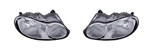 1998 2001 Chrysler Concorde Headlamp Headlight Light Left And Right Pair Set