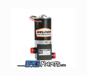 Weldon D2015 A 2015 Racing Electric Fuel Pump 8an Inlet 8an Outlet