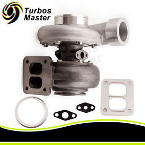 Gt45 Turbocharger turbo 600 hp Boost Universal T4 t66 3 5 V band 1 05 A r 92