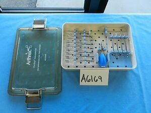 Arthrex Surgical Arthroscopic Arthroscopy Pro Stop Instrument Set W Case