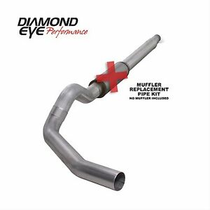 Diamond Eye Exhaust System Cat back Single Steel Ford 7 3l 1994 1997 K5316a rp