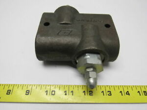 Commercial 380 0236 001 Adjustable Hydraulic Flow Control Valve 1 2 Npt