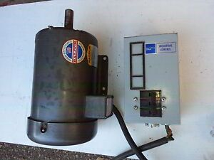 M3615t Used Baldor 5hp Ac Electric Motor