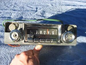 1965 1966 Mopar Chrysler Am Radio