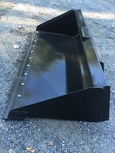 New Hd 72 Skid Steer tractor 6 Bucket With Detachable Cutting Edge For Bobcat