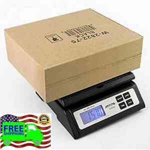 Best Digital Heavy Duty Postal Shipping Mail Weight Scale Batteries Ac Adapter