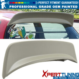Fits 92 95 Civic 3dr Eg6 Hb Hatchback Bys Style Roof Spoiler Oem Painted Color