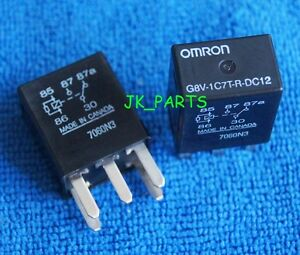 10pcs Original 12v Omron G8v 1c7t r dc12 G8v1c7trdc12 Micro Automotive Relay