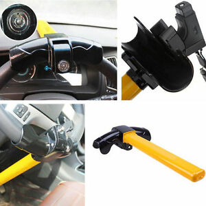 Car Steering Wheel Lock Anti theft Security Keys T Style Steel Devices For Benz