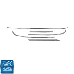 1963 64 Chevrolet Impala Windshield Molding Kit 5 Piece