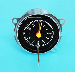 New 1967 1968 Ford Mustang Instrument Dash Bezel Clock Galaxie Shelby