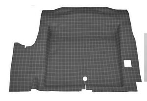New 1967 1968 Mustang Trunk Mat Plaid Pattern Coupe Hardtop Convertible