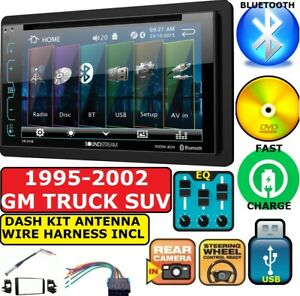 95 02 Gm Truck suv Dvd Usb Cd Aux Bluetooth Car Stereo Radio